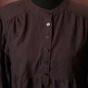 Michael Kors  dark brown blouse